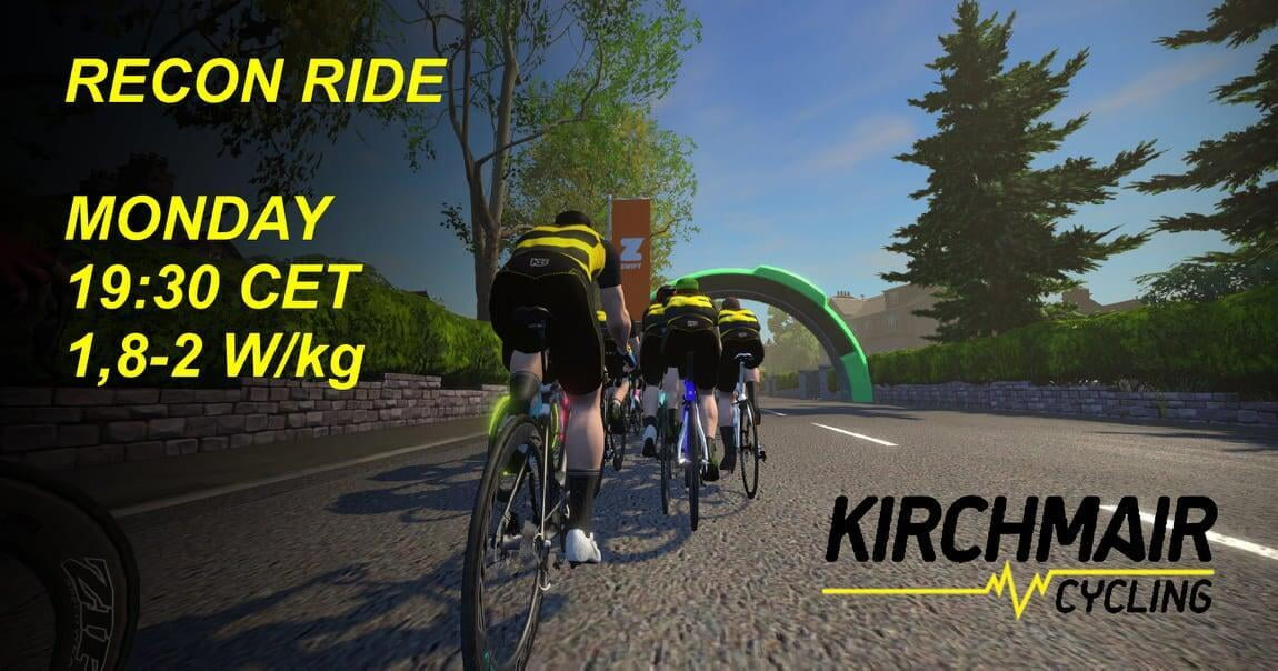 Kirchmair Cycling veranstaltet Online-Events